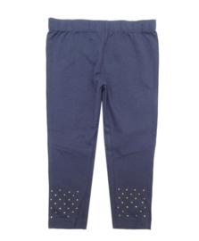 UBS2 legging met studs - blauw