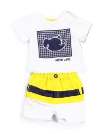 FUN&FUN NEW LIFE set, t-shirt met short