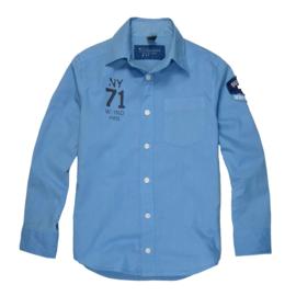 Sevenoneseven overhemd  - lichtblauw