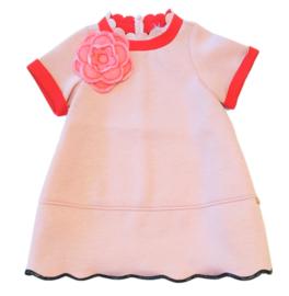 SIMONETTA jurk - roze