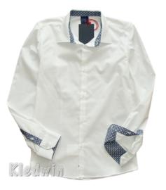 RL RED LIMIT overhemd - wit, mt.14 jaar