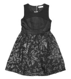 MINI MIGNON jurk - zwart