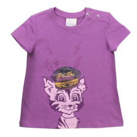 DIESEL t-shirt - paars