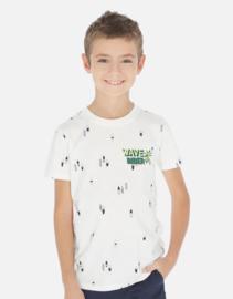 NUKUTAVAKE MAYORAL t-shirt - ecru
