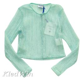 DIAMANTE BLU vest - turquoise