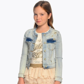 MAYORAL jeansvest - lichtblauw