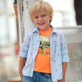 MAYORAL overhemd - lichtblauw