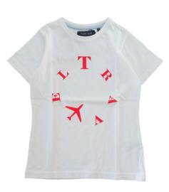 TERRE BLEUE t-shirt - wit
