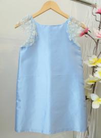 CHARABIA communie / bruidsmeisje jurk - lichtblauw