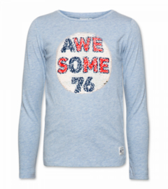 AMERICAN OUTFITTERS longsleeve - lichtblauw