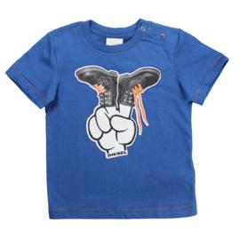 DIESEL t-shirt - blauw
