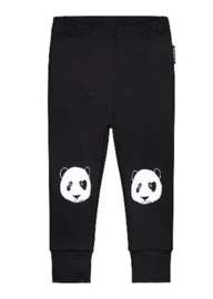 Lucky no.7 legging Panda - zwart