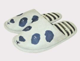 Undercolors of Benetton Panda pantoffels - grijs