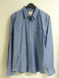 BELLEROSE overhemd - blauw