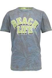 VINGINO t-shirt - grijs, blauw