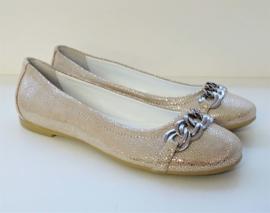 RTB ballerina - koper, zilver