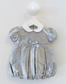BABY GRAZIELLA bruidsmeisjes jurk doopjurk - grijs
