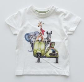 MAYORAL t-shirt - ecru