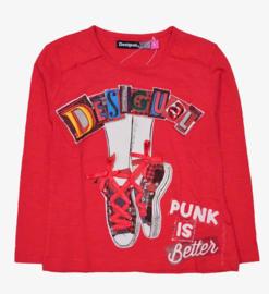 DESIGUAL t-shirt - rood