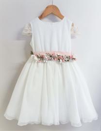 MIMILU  communie / bruidsmeisje jurk - ecru