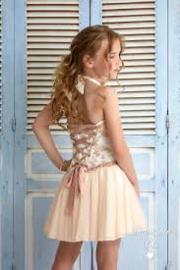 DIAMANTE BLU jurk