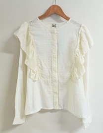 MISS CHIPS blouse - ecru