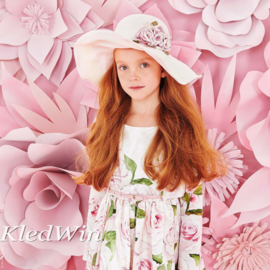 MONNALISA hoed bloemen