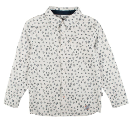 RUMBL! overhemd cactussen - wit