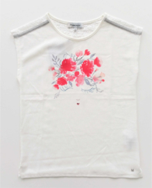 TERRE BLEUE blouse - ecru