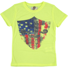 FRED MELLO t-shirt - fluogeel