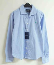 HACKETT LONDON overhemd met strepen - blauw