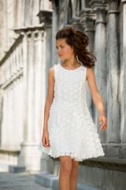 CHARLIE communie / bruidsmeisje jurk - ecru