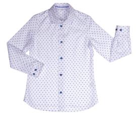 GYMP overhemd - wit, blauw