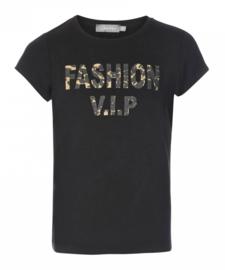 GEISHA t-shirt - zwart