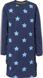 LEMON BERET jurk - blauw