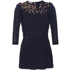 MIM PI jurk - blauw