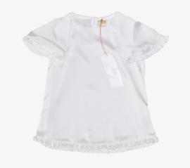 PAULINE B. satijnen blouse - ecru