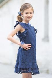 ENFANT D'AMOUR communie / bruidsmeisje jurk - blauw