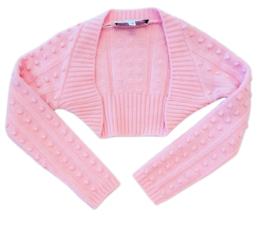 SIMONETTA bolero - roze