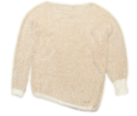 LIU-JO asymmetrische trui - beige