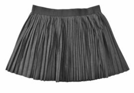 LOSAN plissé rok - zwart