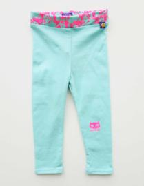 KIDZ ART legging - turquoise