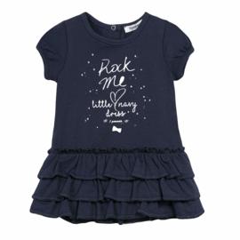 3POMMES jurk - blauw