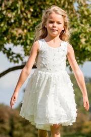 CHARLIE  communie / bruidsmeisje jurk + onderrok - ecru
