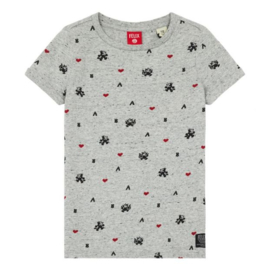 SCOTCH & SODA t-shirt FELIX - grijs