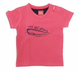 BBL by BEEBIELOVE t-shirt - rood