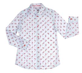 GYMP overhemd Vespa - lichtblauw
