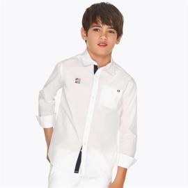 MAYORAL NUKUTAVAKE overhemd - wit