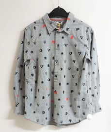 PAUL SMITH overhemd - grijs