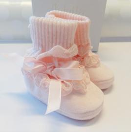 ALETTA Baby Slofjes - roze